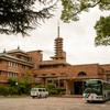 武庫川女子大学・甲子園会館(旧甲子園ホテル)を見学。SONY α900で撮影。2009年7月6日