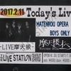 17.02.11 摩天楼オペラ-MATENROU OPERA BOYS ONLY GIG-LIVE 摩天狼@目黒LIVE STATION