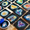 回転するコマに描かれた絵は?コマ回しボードゲーム「魔法のコマ(Zauber Kreisel/Turbulent Top)」