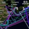 世界の海中に張られた海底ケーブルの詳細マップ