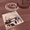 ペンde風景スケッチ インクトーバー2020 cafeアトリエ