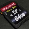 なんと無期限保証!Transcend SDXCカード 64GB Class10 購入