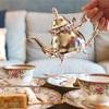 【ノリタケ・アフロディーテ】ノリタケの高級食器で紅茶が飲めるカフェ・ルポポ。