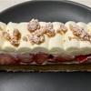 🚩外食日記(294)    宮崎ランチ   「asaBAKE&COFFEE(アサベイクコーヒー)」④より、【苺とマスカルポーネのタルト】【苺のムースリーヌフラン】‼️