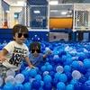 1歳半でも思いっきり遊べるコロワ甲子園にあるピュアハートキッズランド