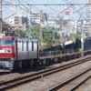 7月18日撮影 東海道線 平塚~大磯間 貨物列車2本撮影 1097ㇾ 2079ㇾ