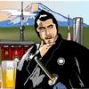 昭和の銀幕大スター、三船敏郎@用心棒をエクセルで描いてみた