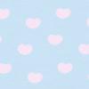 ハートの壁紙(ブルー×ピンク)