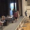 優勝旗返還の儀式。インターハイ三重県大会・学校対抗戦一日目