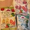 イオン:チョコ苺(レモン・ダブルベリー)/チョコミントキューブ
