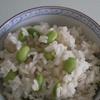 枝豆ごはんのレシピ