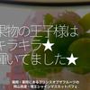 1048食目「果物の王子様はキラキラ★輝いていました★」福岡・薬院にあるプリンスオブザフルーツの岡山県産・晴王シャインマスカットパフェ