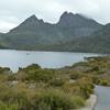 タスマニア 一味違うオーストラリア いたるところが絶景地 随一クレイドルマウンテン10  ダブ湖を目指す観光客たち