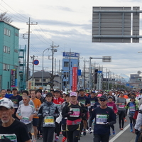 今年も沿道応援 -第4回さいたま国際マラソン-