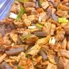 鶏肉とこんにゃくの中華風炒め