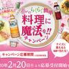 フンドーキン醤油|春のらくらく簡単 料理に魔法を!!キャンペーン