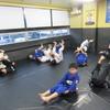 木曜日キッズ柔術クラス、一般柔術クラス。