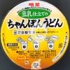 明星 豆乳仕立てのちゃんぽんうどん 108円