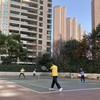 2月6日テニス定期練習の後はほんわかな時間@上海仁恒(レンハン)テニスコート