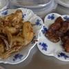 幸運な病のレシピ( 1254 )夜 :レバー唐揚げ、鳥手羽ニンニク揚げ(二度揚げ)、汁