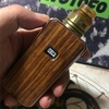 【VAPE】 AUGVAPE DRUGA FOXY MOD 150W WOOD PANEL version 【MOD】