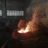 ガムラン製作工房訪問(ジャワにて)(2) 青銅のガムラン