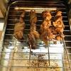 自宅で焼鳥もアリと思いました。肝と豚バラがビールに合う!