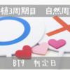 【移植3周期目 自然周期】 BT9 判定日