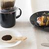 北欧食器でコーヒーとデザート(イッタラ/ティーマ)