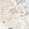 〈個人山行〉京都百名山シリーズNo. 79半国山
