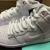 NIKE SB ZOOM DUNK HIGH PRO QS WHITE/WHITE-UNIVERSITY RED