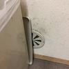 台所の壁紙の飛沫汚れは重曹スプレーと歯ブラシで