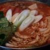 寒い日にあったまるキムチ鍋~晩御飯の記録~