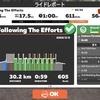 【ロードバイク】Zwiftインターバルトレーニング開始17日目_20200509