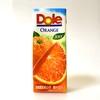 Doleオレンジ100%は素朴すぎるオレンジジュースの味わいで面白くない、だがそれがいい