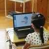 やまびこ:学習の様子① PC・映像で学習