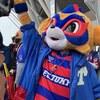 Jリーグ界の多才マスコット!とにかく可愛すぎるFC東京の東京ドロンパ@味の素スタジアム(東京都調布市)