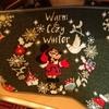 warm&cozy winterグッズ ミニーのイヤーカフと赤手袋シックな色合いが可愛いね!ほっこりアートクリスマス!