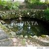 清水 湧き水 秋田県美郷町 諏訪神社付近