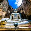 スコータイ歴史公園『ワット・シーチュム』(Wat Sri Chum)で時間が止まりました📸