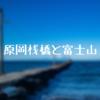 原岡桟橋から撮影!東京湾に浮かぶ富士山