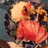 鰤(小田原産)、本氣米(島根県海士町)の酢飯で手巻き寿司