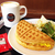 タリーズコーヒーのアメリカンワッフルセット|メニュー・時間・食事系ワッフルはどんな味!?