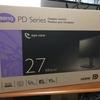 27インチ デザイナーズモニター BenQ PD2700Q お借りしました