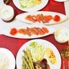 【洋食】おうちごはんの記録~久しぶりのハンバーグ/My Homemade Dinner/อาหารมื้อดึกที่ทำเอง