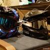 国産オフロードヘルメットAraiのV-Cross4とSHOEIのVFX-Wを両方買って使って比較してみた感想