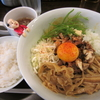 【今週のラーメン656】 らぁ麺Cliff (大阪・大阪城北詰) マサラまぜそば