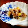 晩酌おつまみは北海道の珍味(ニシンの切り込み&鮭の切り込み)