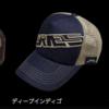 【ノリーズ】フロントにデニム生地を採用した「メッシュキャップ」発売!