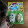 100円ショップの「ふわふわネズミのオモチャ」が良いです&注意点!